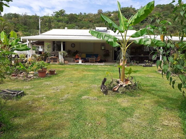 Maison d'hôte Dumbéa Calme, nature, golf & rivière