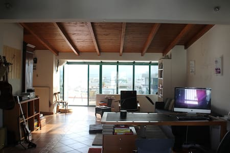 highest penthouse in Volos - 沃洛斯 - 公寓