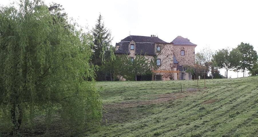 Spacious farmhouse in Occitane