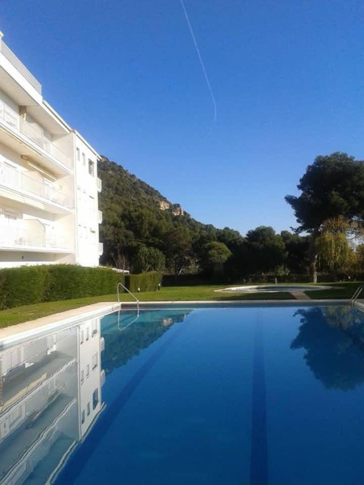Résidence Dos Calas, avec piscine et grand jardin