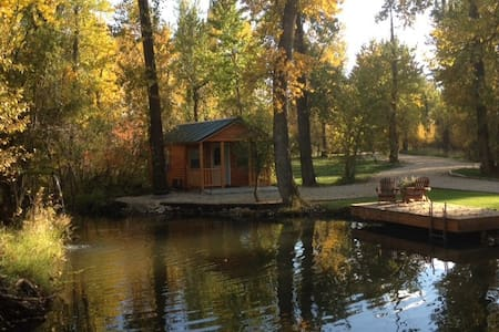 Castaway Cabins #5, near Red Lodge, MT - Roberts - Cabin