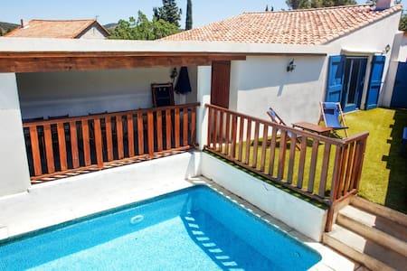 Maison avec piscine et 2 jardins - Cascastel-des-Corbières