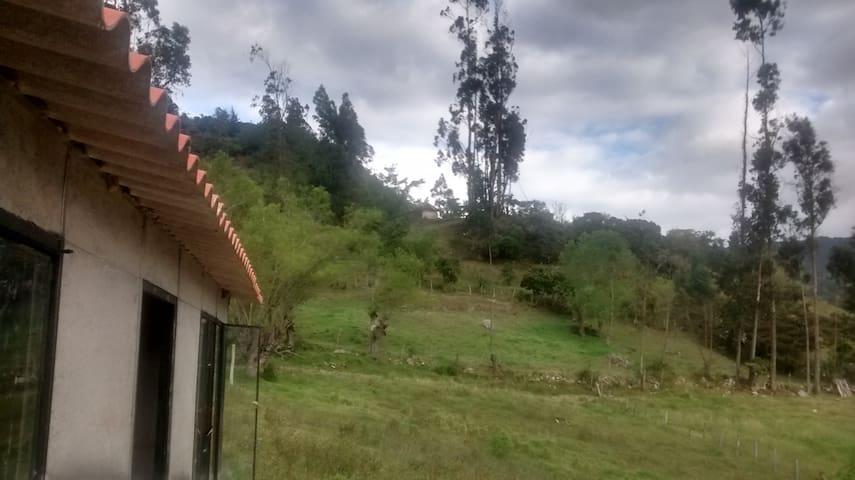 Casa Campestre ECO Turismo - Ramiriquí - Srub