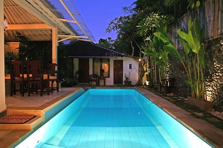 3br budget villa in center Seminyak close to beach - Kuta
