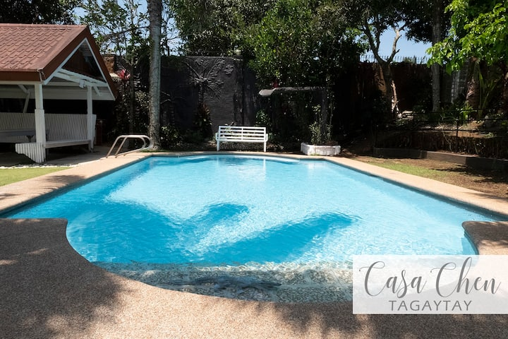 House for rent with pool / 4 BR (12beds)/ 6-12 pax