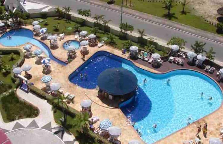 Apartamento de frente para mar litoral do Paraná