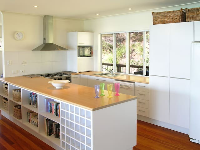Beachfront Bliss - Moreton Island - Huis