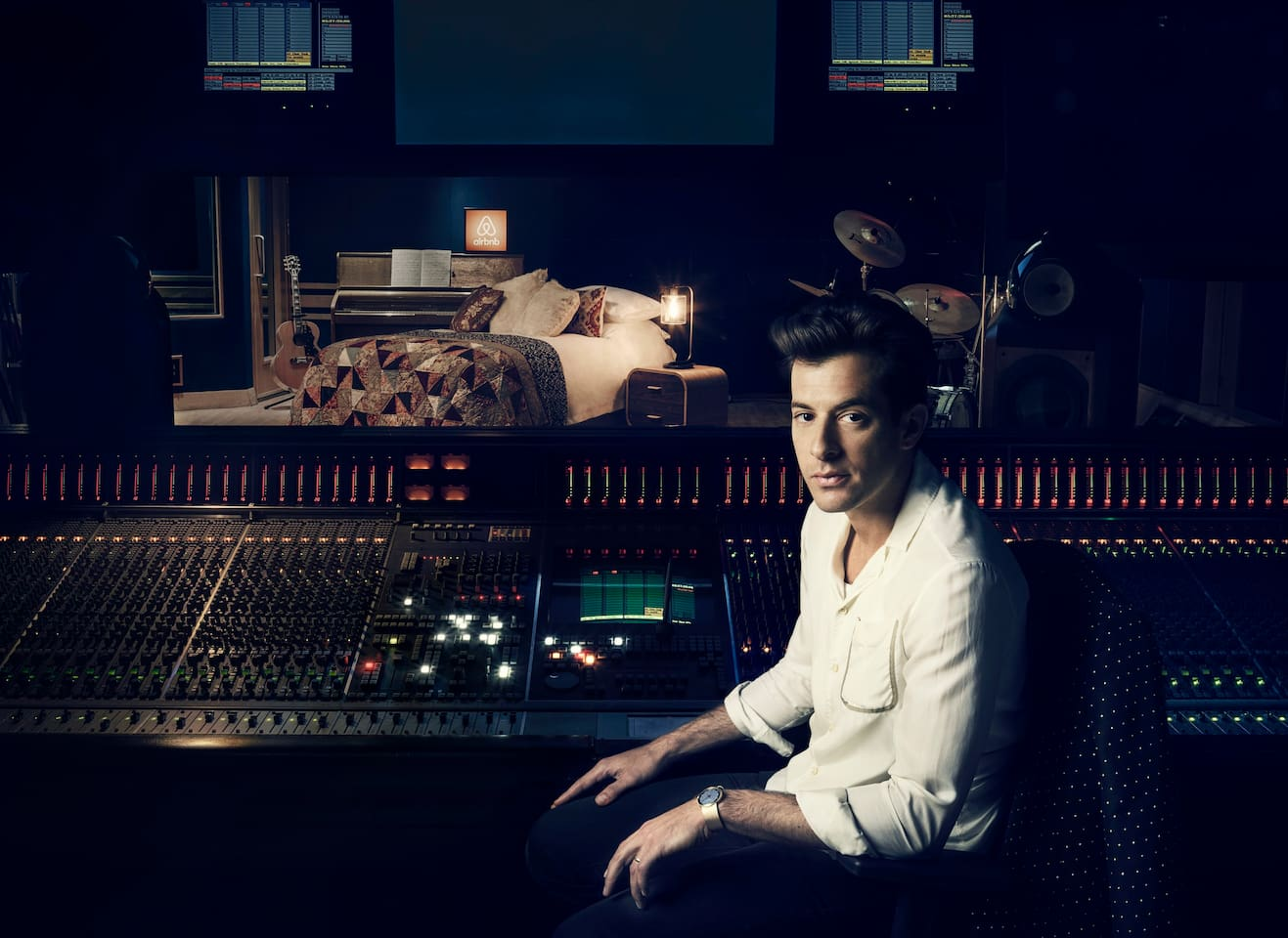 Fire up the amps and make memories with your iconic host, Mark Ronson.