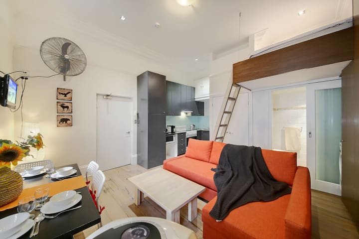 Zs Loft in Potts Point Sydney