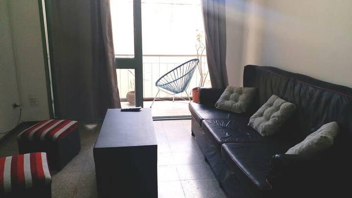 Habitación privada cama 2 plazas Dpto Alvear