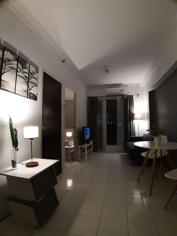 Entire Unit  2BR Apartment in Mutiara Bekasi