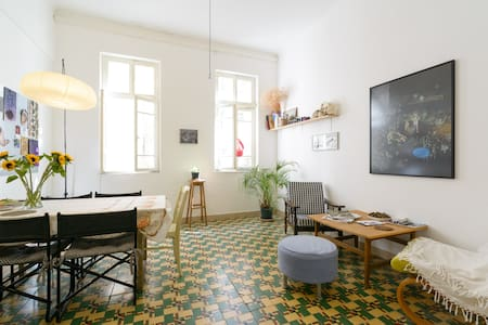 beautiful quiet room in city center - Appartement