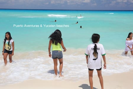 Welcome to our artist's house ! - Puerto Aventuras
