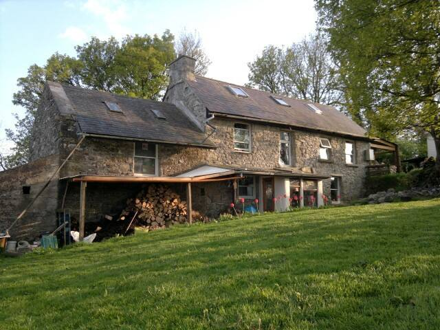 Traditional Irish Cottage and Farm