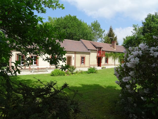 Typical country house 12 pers Normandy Calais 3h20