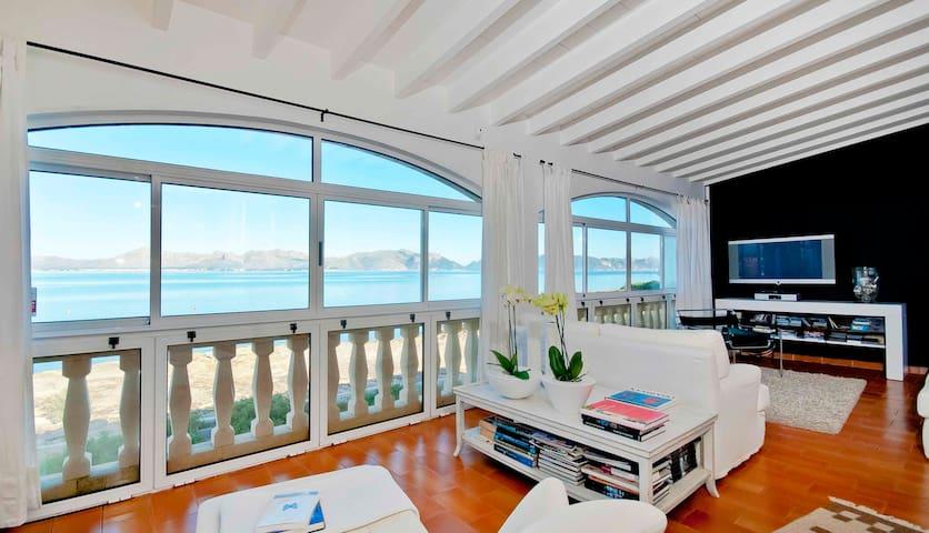 First Sea Line House Pool & Beach - Alcúdia - Hus