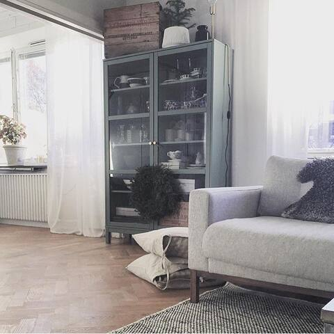 Big, central apartment with lovely decoration