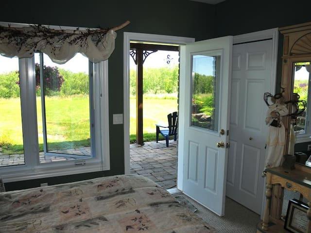 Serenity Room - Door to patio
