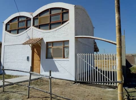 Alquiler casa bonita en Colán, excelente ubicación