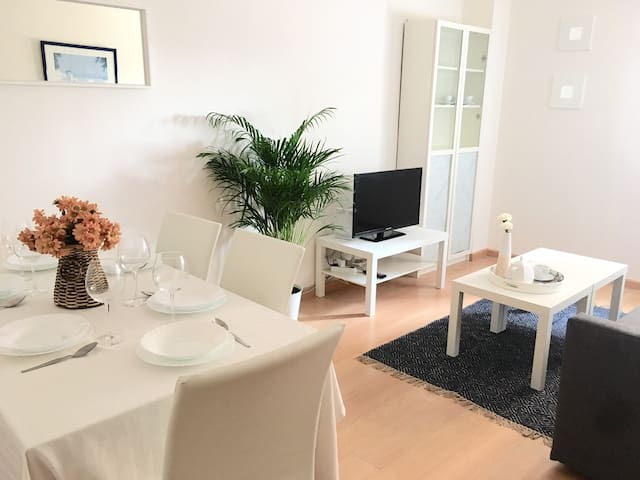 Apartamento  céntrico, con WIFI & Parking gratis