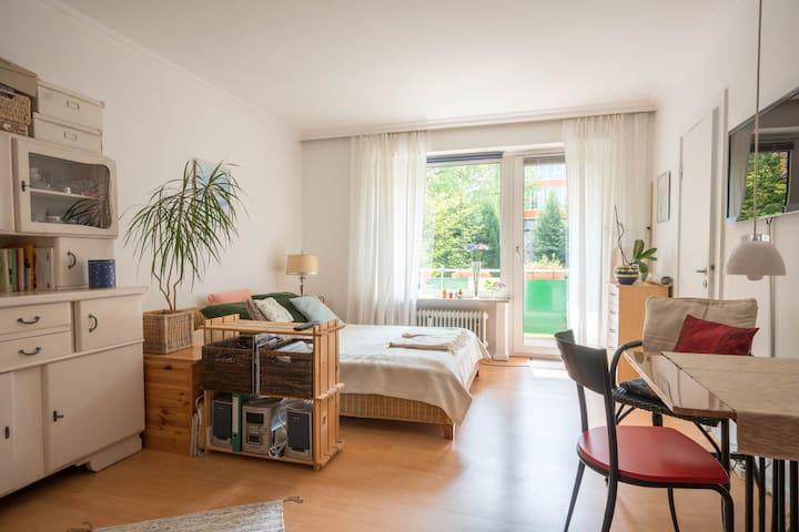 Zentral gelegene Wohnung nahe der Außenalster
