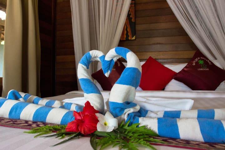 Deluxe Honeymoon Cottage - Nusapenida - Villa