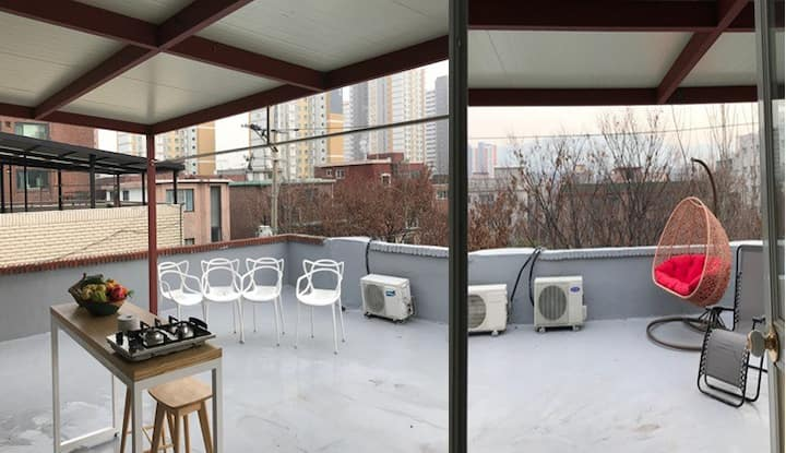 2BD! Private Terrace! 10M Subway! Fully Renovated
