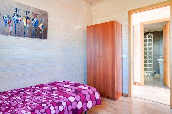 LOS SUEÑOS. Preciosa casa de madera - Alhaurín el Grande - Casa