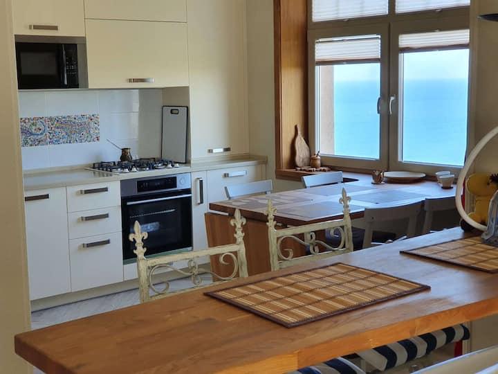 Уютная квартира с видом на Балтийское море.