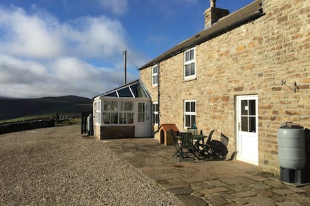 Secluded home with stunning views of the Pennines