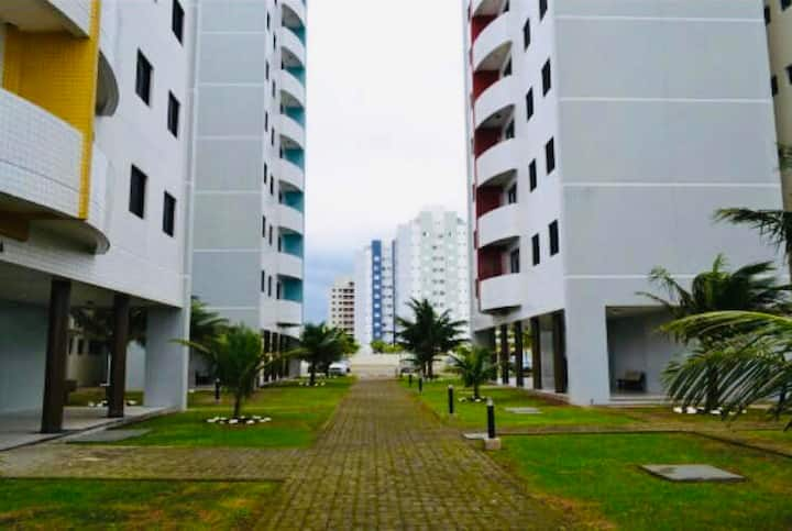 Apartamento pé na areia - Itanhaem