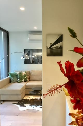 2 Bedroom modern apartment in CBD