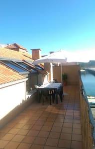 Acogedor ático con terraza - O Grove - Leilighet