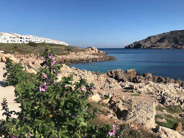 Frente a la Bahia de Fornells. Menorca - Fornells