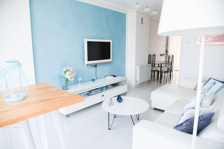 Apartamento en Somo con vistas a la playa.