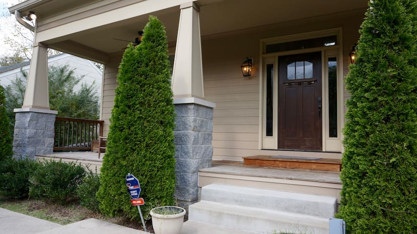Craftsman style home in popular East Nashville