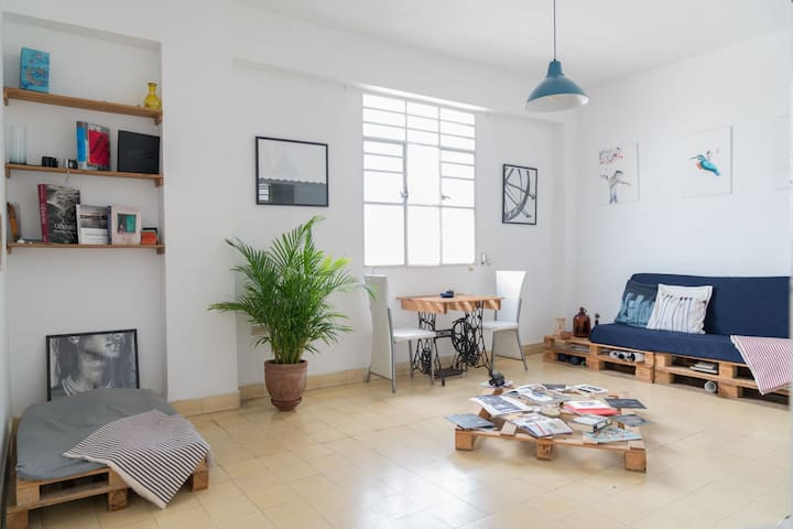 Cozy, bright and cool apartment at Vedado