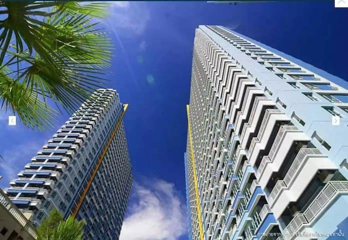 芭提雅 中天海滩 苠宿一居 公寓 距离海滩20米 度假首选 Jomtien Beach Park