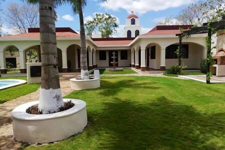 Relajante Casa de Campo / Cancun y Puerto Morelos