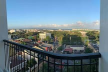 7am view at the balcony