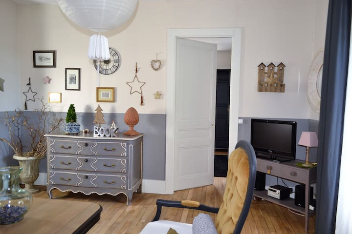 Appartement complet et indépendant sur jardin