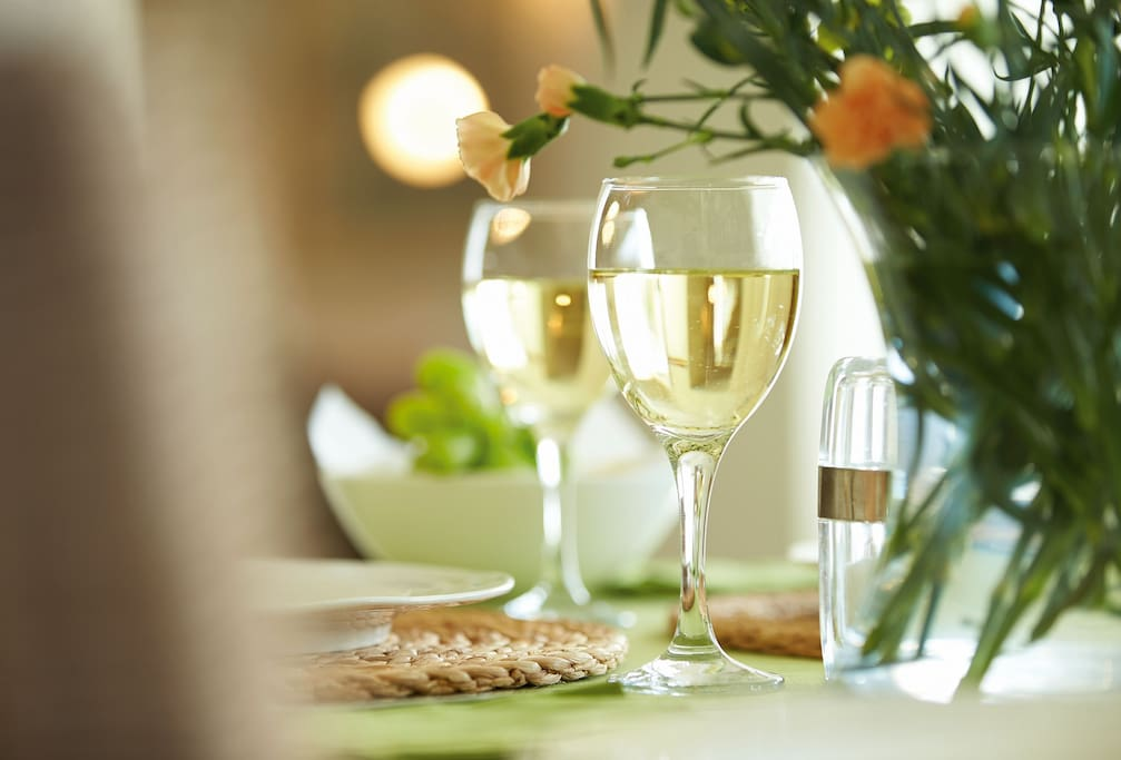Relax and unwind over dinner