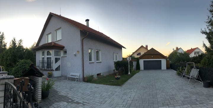 Apartment on ground floor with garden in Doksy CZ