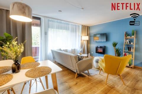 Skandinavian ❤店Uima-allas ❤店 ❤Sauna 店Netflix