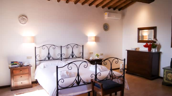 Casa Quercia nel Chianti, 2 floors for two guests