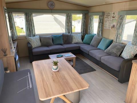Static  caravan Newquay Bay Resort 2/6 persons