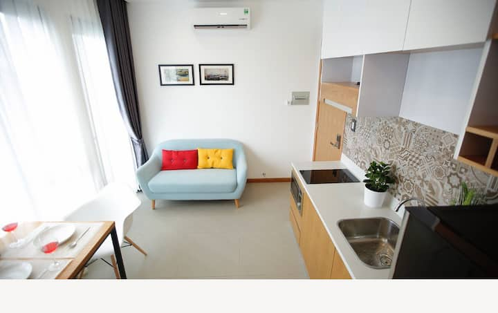 Cozy One Bedroom #4C at Thao Dien with Pool