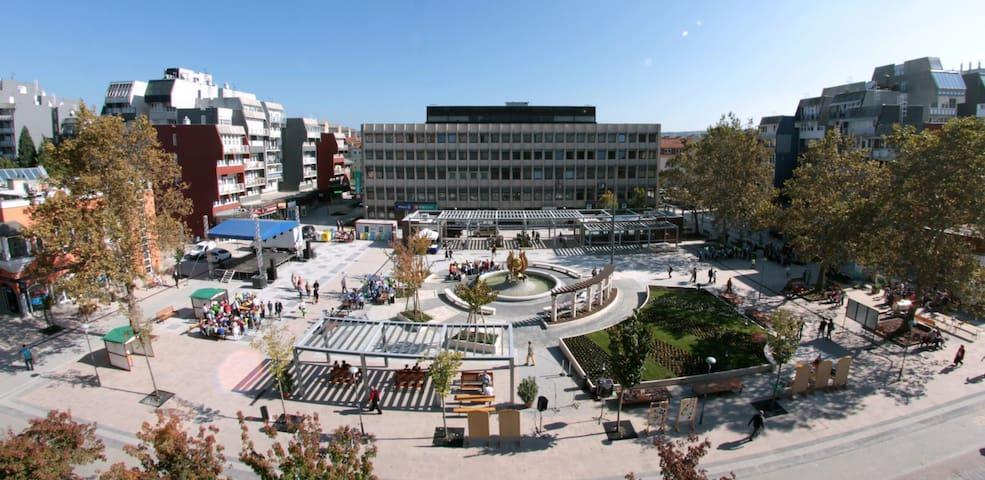 Zalaegerszeg Dísz tér - City center