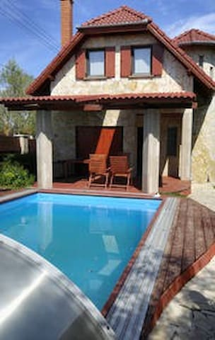 Fantastic Chalet at Lake Balaton next Golf Course
