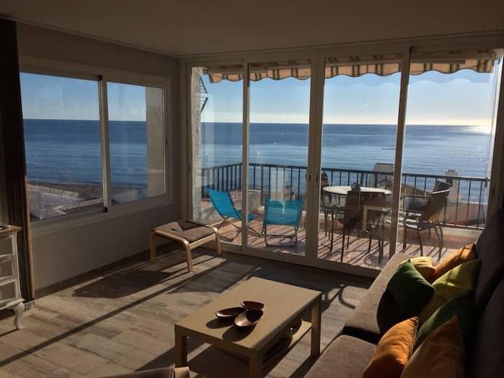 Estepona, apartment with excellent sea views